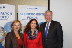 Mit Botschafterin Dr.iur.Ivana Červenková und Landesrat Dr.Eichtinger